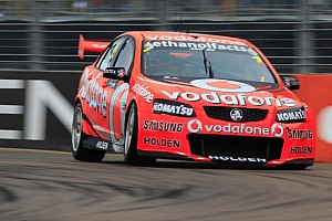Supercars Preview Team Vodafone show promise at Queensland Raceway - Video