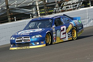 NASCAR Cup Race report Keselowski comes up just short on final restart at Pocono