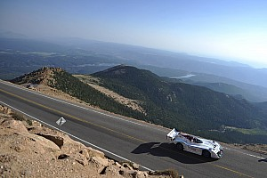 Hillclimb Practice report Tajima ends three days of practice with confidence at Pikes Peak