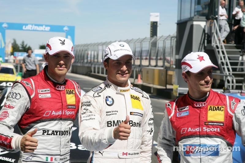 Pole for Spengler, setback for Paffett in Nürburgring qualifying