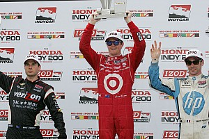 IndyCar Special feature Competition throughout the field creates wide-open title fight