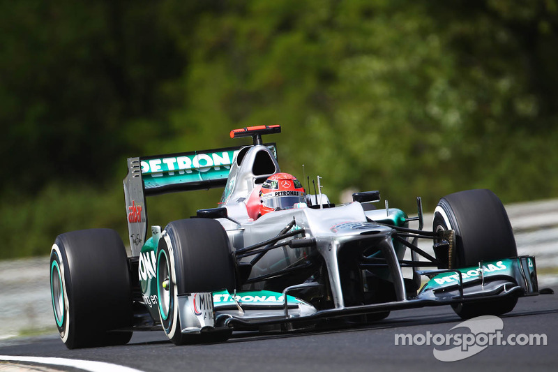 Mercedes ends summer break and heads to Belgium