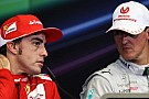 Alonso F1's strongest driver now - Schumacher