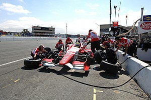IndyCar Race report Justin Wilson happy with 11th after Sonoma grid penalty