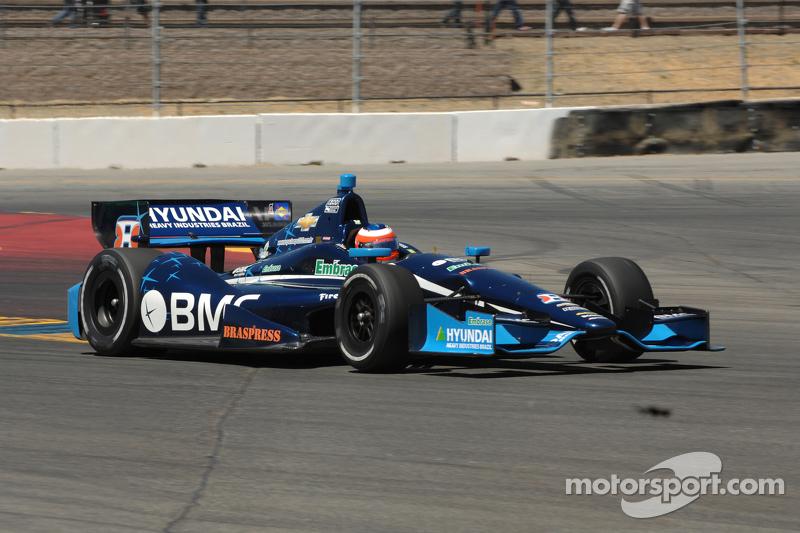 KVRT's Barrichello finishes season-high fourth