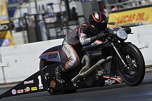 NHRA Preview Pro Stock Motorcycle series leader Krawiec looking for an Indy to remember