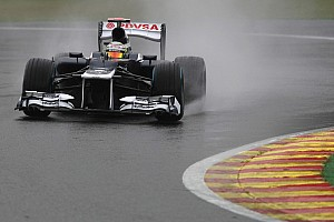 Formula 1 Practice report Maldonado and Senna optimized cars for Belgian GP race start
