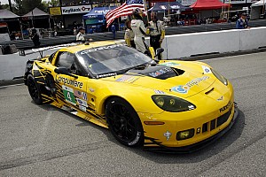 ALMS Qualifying report Corvette Racing wins GT pole for Baltimore street race