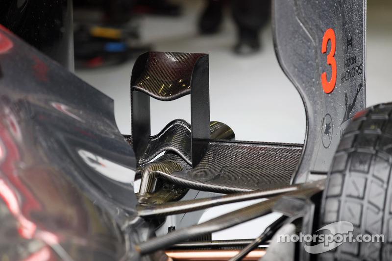 McLaren running 'unusual sidepods' at Spa