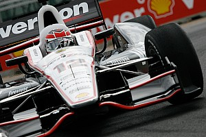 IndyCar Qualifying report Will Power puts Chevrolet on the pole for Baltimore Grand Prix