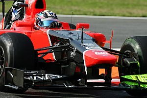 Formula 1 Practice report Steady progress for Marussia on first day practice at Monza