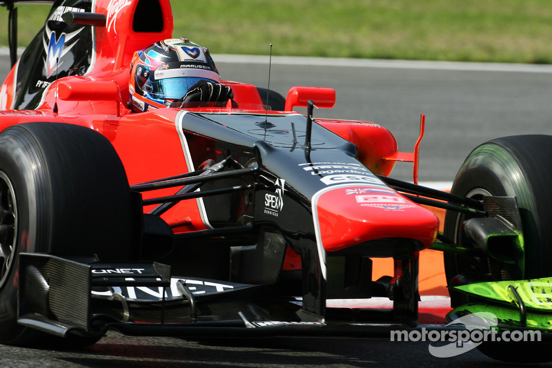 Steady progress for Marussia on first day practice at Monza