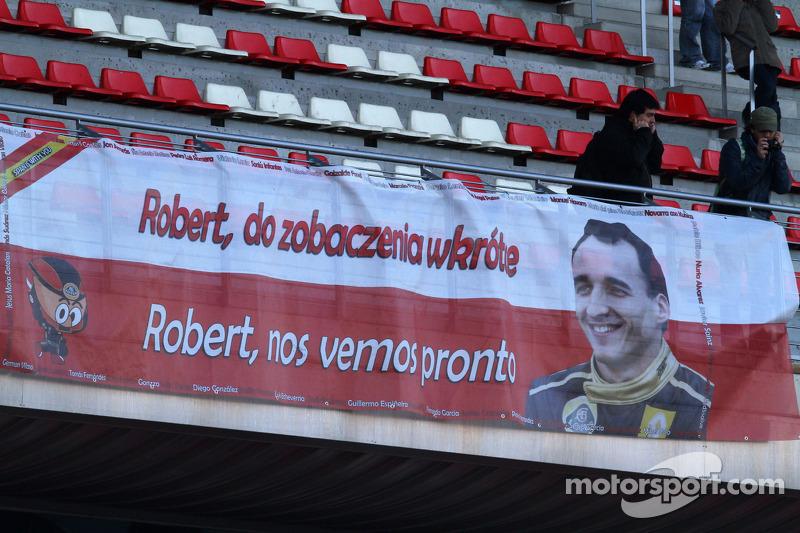 Kubica eyes 2014 for F1 return