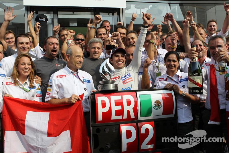 Ferrari rumours fire again after Perez podium