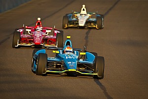 IndyCar Race report Early electrical failure derails SFHR's Newgarden at Fontana