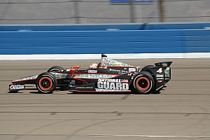 IndyCar Race report Hildebrand dominate until wall contact in Fontana