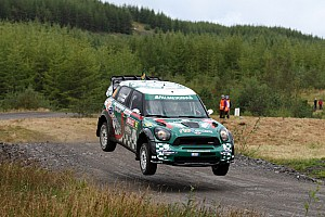 WRC Leg report Team MINI Portugal's 'Atko' lands in the points in Wales Rally GB