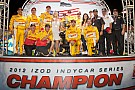 By the Numbers: A championship year  Andretti Autosport and Ryan Hunter-Reay