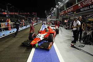 FIA F2 Practice report Razia lines up ninth ahead of GP2 finale in Singapore