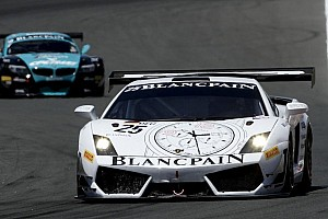 Blancpain Sprint Race report Kox and Rosina take Lamborghini's first win of 2012 at the Nurburgring