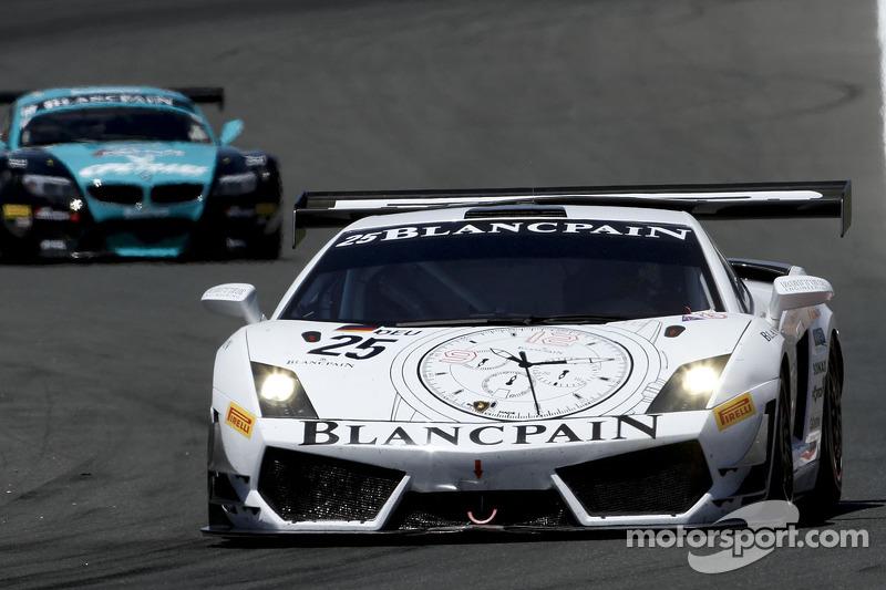 Kox and Rosina take Lamborghini's first win of 2012 at the Nurburgring