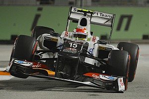 Formula 1 Race report Pérez and Kobayashi finished the Singapore night race in 11th and 13th respectively
