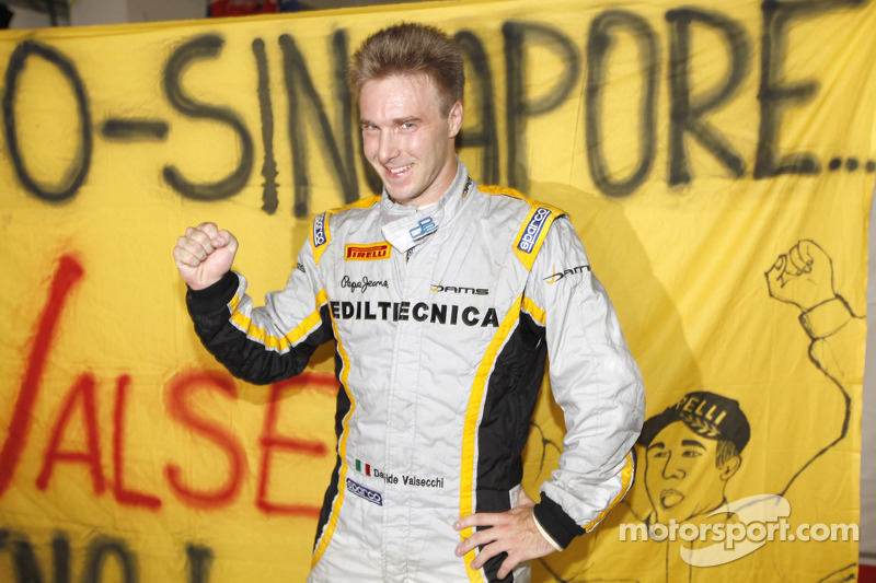 Valsechi and Dams became GP2 Champions with Pirelli