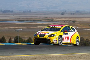WTCC Race report  O'Young salvages points despite problems at USA debut Sonoma races