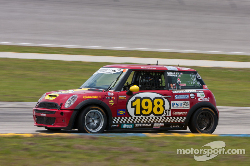 RSR to race MINI Cooper S  in ST Class for the final time at Lime Rock
