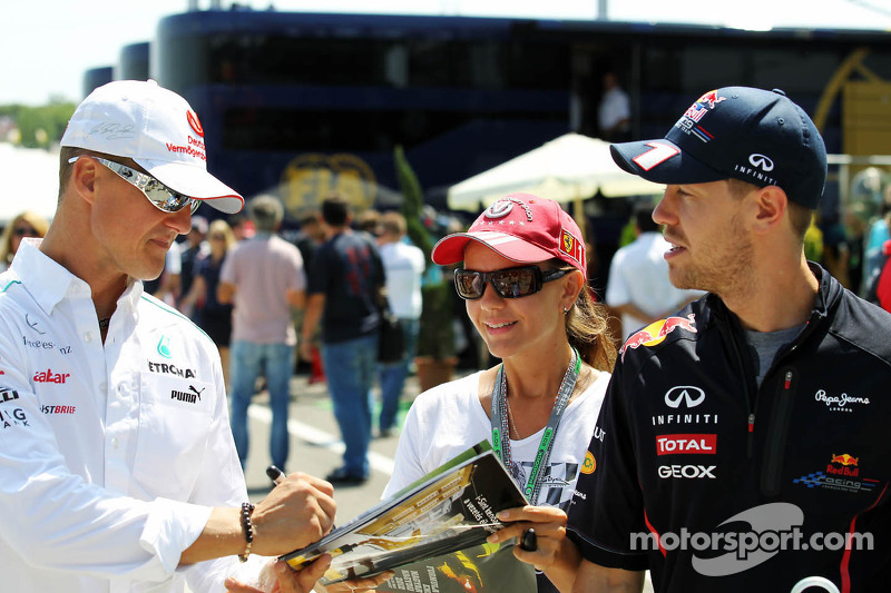 Vettel hopes Schumacher finds new F1 seat