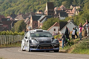 WRC Leg report Consistency sees M-Sport duo hold station in France