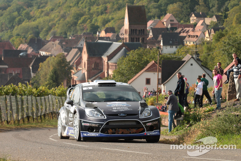 Consistency sees M-Sport duo hold station in France