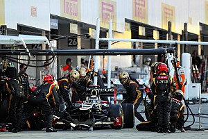 Formula 1 Race report Lotus still haven't found on Japanese GP what its looking for