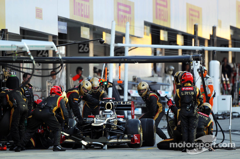 Lotus still haven't found on Japanese GP what its looking for