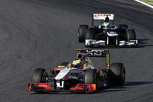 Formula 1 Race report HRT was competitive and De La Rosa finish in 18th at Suzuka
