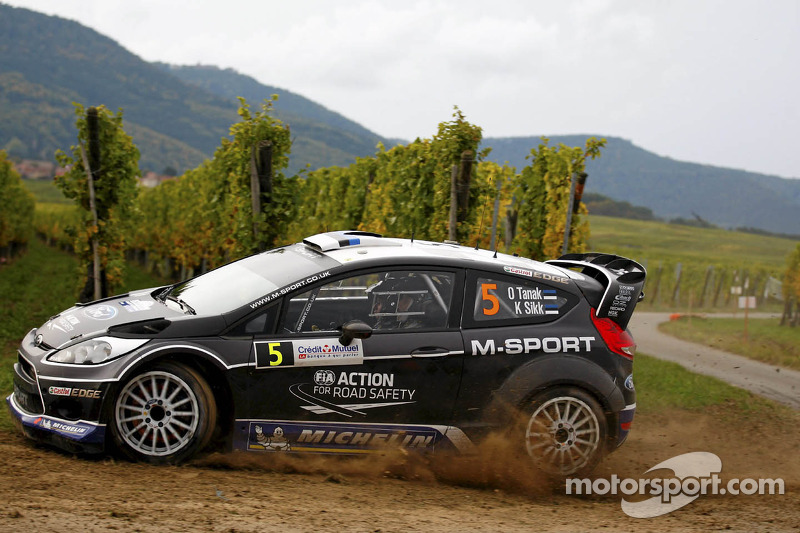M-Sport Ford drivers showed composure in Rally France