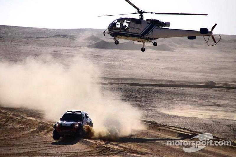 Joan Barreda and Khalifa Al-Mutawei/Andreas Schulz, winners in Pharaons Rally