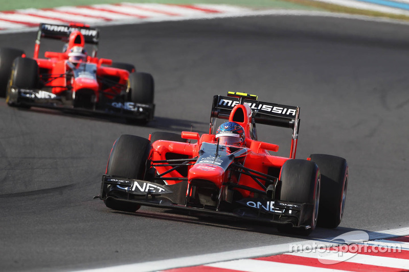 Challenging Friday Practice for Marussia at Yeongam circuit