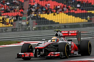 Formula 1 Qualifying report McLaren's Hamilton drove a strong lap in Q3 to qualify third at Yeongam