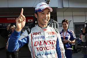 WEC Qualifying report Toyota racing takes pole position at Fuji