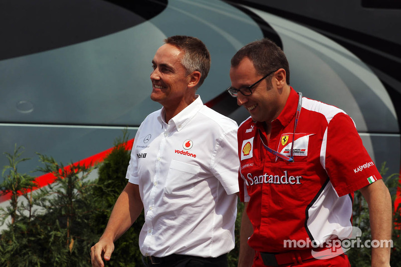 McLaren 'pressure' better for Perez - Domenicali