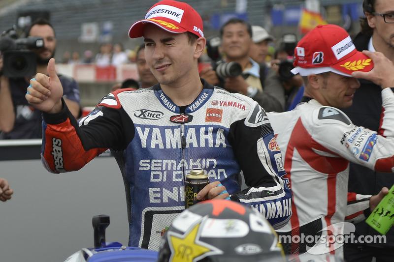 Lorenzo scores second for Yamaha in Motegi
