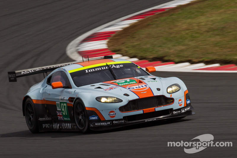 Aston Martin finishes third in Fuji and maintain second position