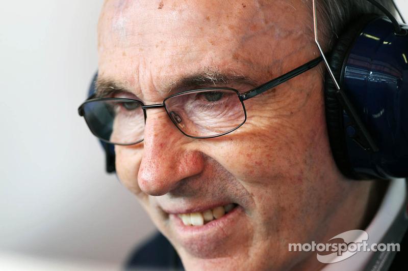 Formula 2 champion Luciano Bacheta drives the Williams FW33 at Silverstone