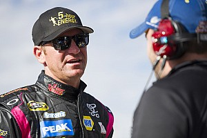 NASCAR Cup Interview Bowyer on Kansas: It's going to be super hard to pass