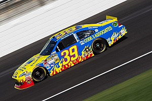NASCAR Cup Race report Newman's day ends early at Kansas