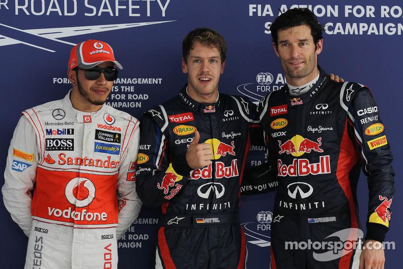 Vettel dominates qualifying to take pole in India