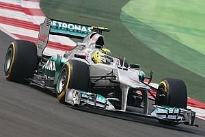 Formula 1 Qualifying report Mercedes's Rosberg qualified in 10th place for the Indian Grand Prix
