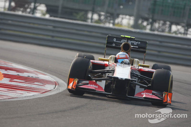 Indian GP didn't go as well as expected by HRT