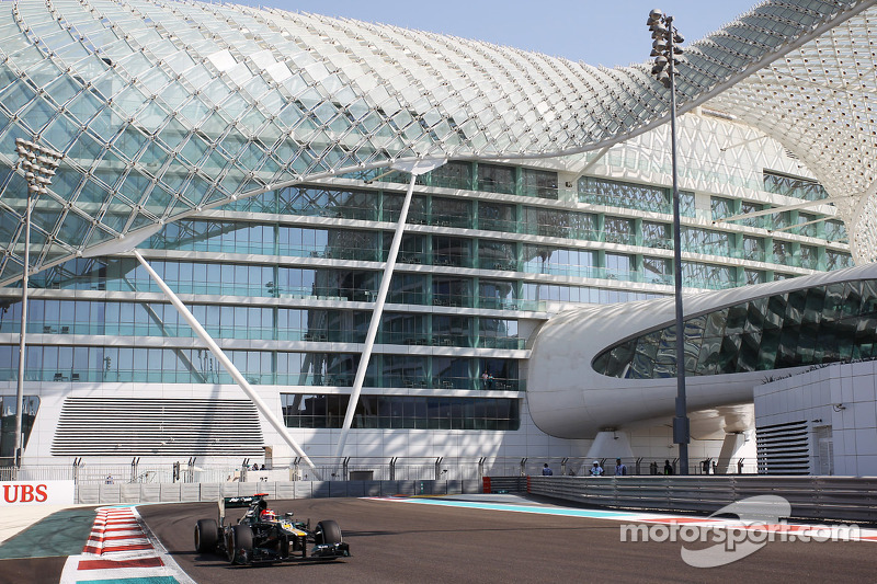 Caterham drivers quotes about the Abu Dhabi GP Friday practice